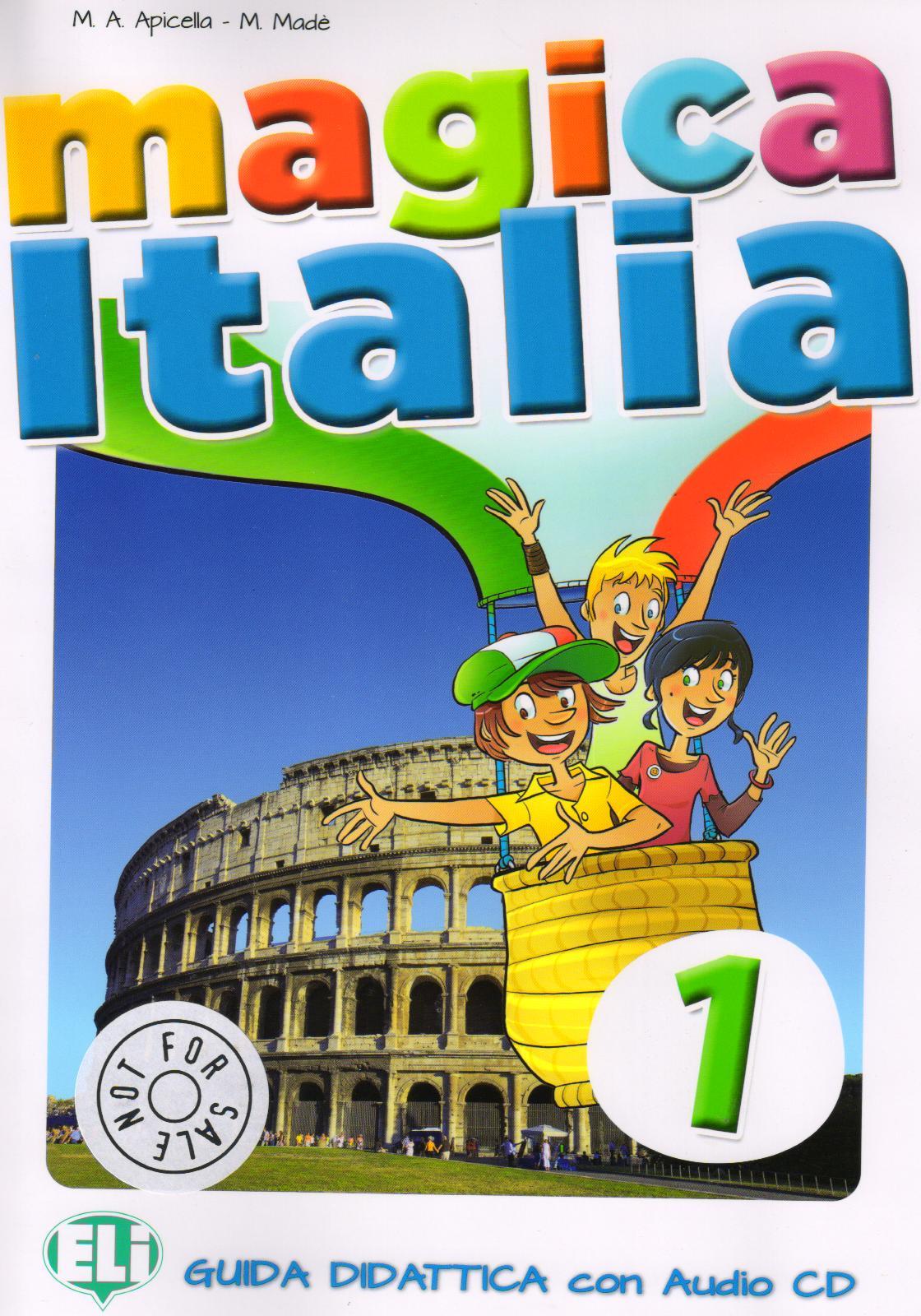 Magica Italia 1 - příručka pro učitele + CD
