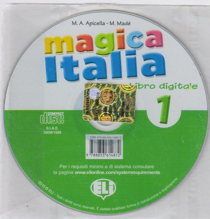 Magica Italia 1 - CD - součást příručky pro učitele